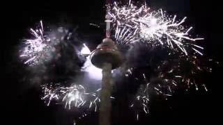 Vilnius TV Bokstas Naujieji Metai / Tower FireShow 2015