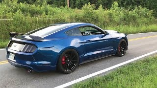Goonzquad 2017 Mustang GT V8 w/ ARMYTRIX Cat-Back Exhaust, On Board Reaction And Pure Sounds!