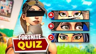 YOU KNOW ALL ABOUT FORTNITE? QUIZ TEST ‹ JUAUM ›