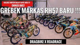 KOLEKSI MOTOR BALAP BAYU UCIL OWNER RH57 DRAG BIKE - ROAD RACE  - MANTAP !!!