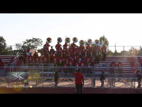 Motor City Heat Marching Band - Tonight - 2017