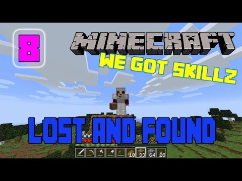 9 WAYS TO NOT GET LOST/FIND YOUR WAY HOME | We Got Skillz Minecraft Survival Tutorials #8
