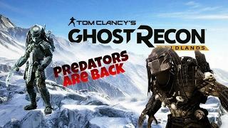 Ghost Recon Wildlands Fallen Ghost DLC: Predator Easter Egg!!