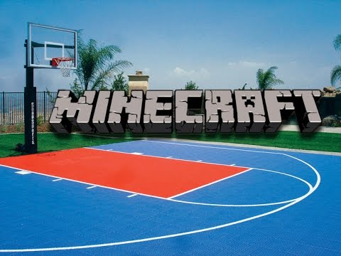 Full download minecraft lets build basketball court for Build a basketball court