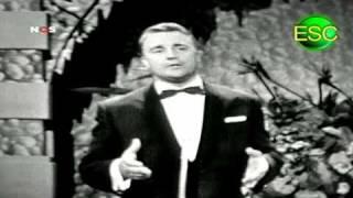ESC 1961 11 - Belgium - Bob Benny - September, Gouden Roos