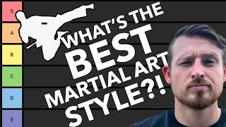 RANKING Martial Arts Styles! Fighting Style Tier List w/ Sensei Seth