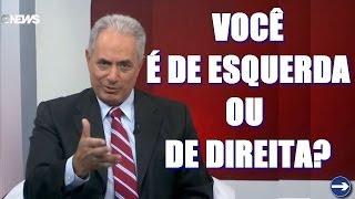 Direita e esquerda na política nacional - Programa Painel - GloboNews 28/12/2013
