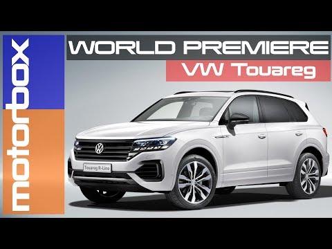Volkswagen Touareg 2018   SUV al top, look tra T-Roc e Atlas