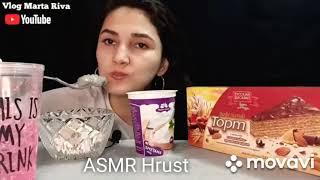 @vlog Marta Riva/Mukbank...Crunch with Cream 🍤🍤