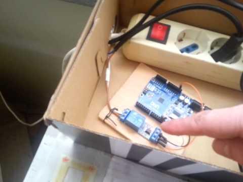 Rocket stove, carico pellet upgrade con arduino