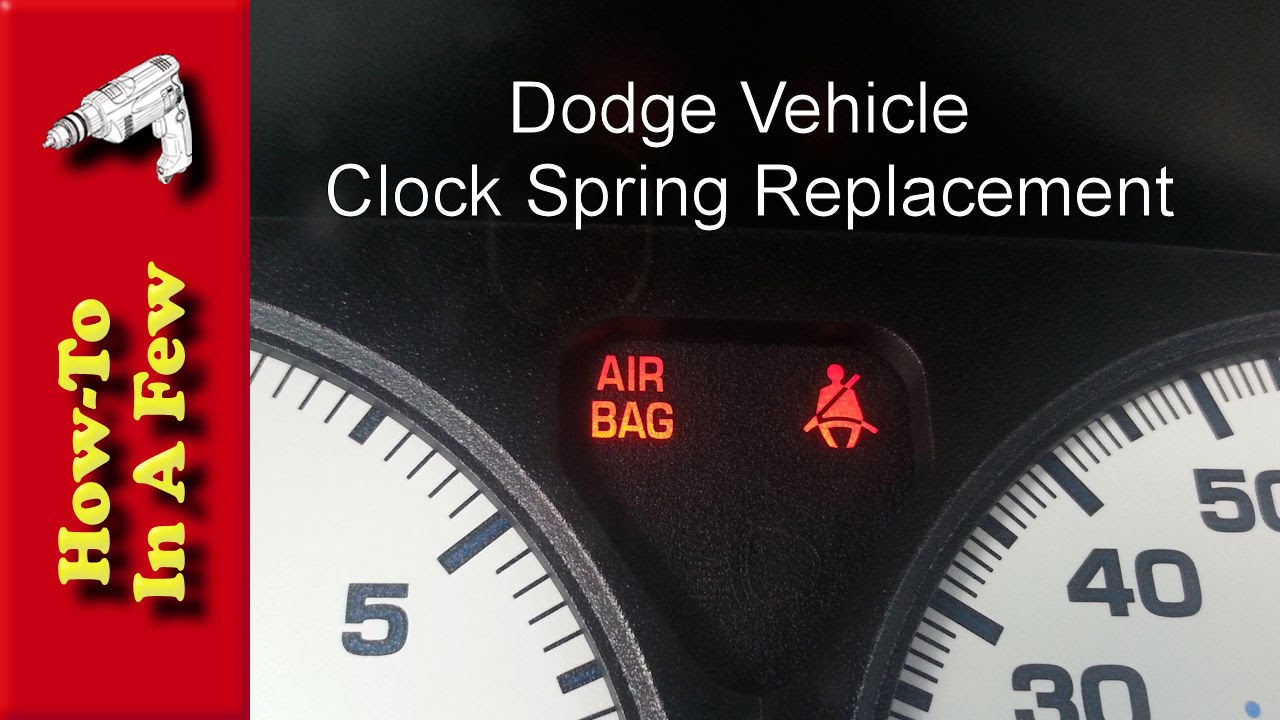 Howto Replace The Clockspring On A Dodge Vehicle With An Airbag Light