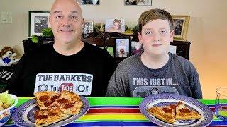 Tony's Pizza Mukbang  | The Barkers