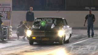 FASTEST STREET CAR IN THE WORLD! Larry Larson runs 6.95 @ 209 on Drag Week!!!