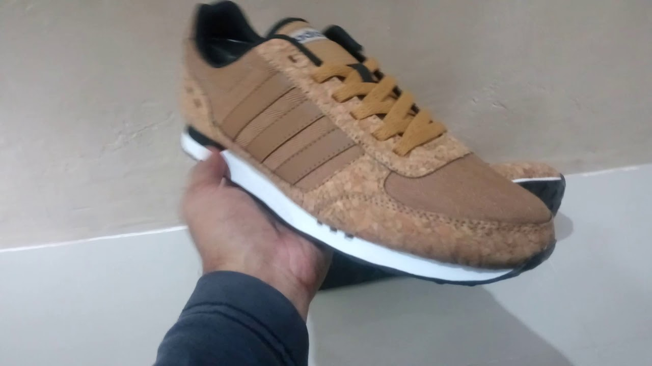 727e3cdb989 SEPATU ADIDAS NEO CITY RACER ORIGINAL BNWB INDONESIA BROWN WOOD