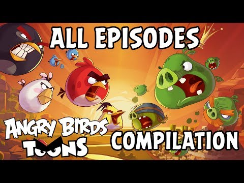 Angry Birds Toons Compilation | Season 1 All Episodes Mashup thumbnail
