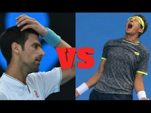 Novak Djokovic vs Denis Istomin Highlights, australian open 2017