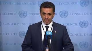SC President (Bolivia) on Central African region - SC Media Stakeout (13 June 2017) thumbnail