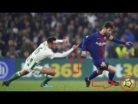 Messi se gambetea a tres jugadores del Betis y hace caño a Guardado