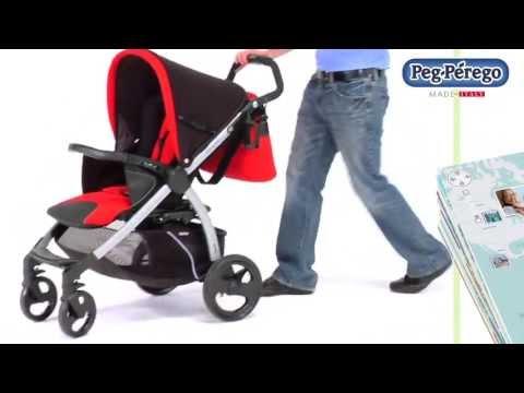 Peg Perego Book - Видео обзор прогулочной коляски