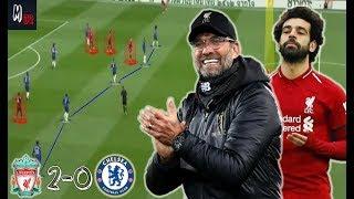 How Did Klopp Dominate Sarri's Tactics? Liverpool 2-0 Chelsea / Tactical Analysis