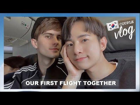 [Korea Vlog Ep.1] Couple's Relaxing Vacation in my Boyfriend's Favorite City in Korea
