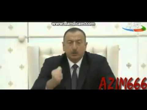 Prezidentin(iLHAM Aliyev) Qarabag muharibesi.02.04.2016 hadisesi ile bagli cixishi
