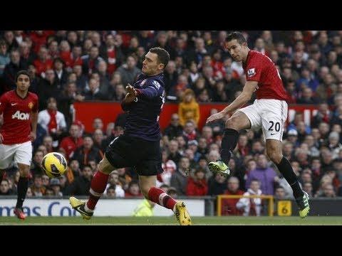 Manchester United 2-1 Arsenal | Van Persie scores as Devils defeat Wenger's side