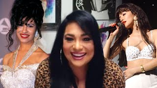 Selena's sister, suzette quintanilla, opens up to et's deidre behar about 'selena: the series,' which starts streaming dec. 4 on netflix. discusses t...