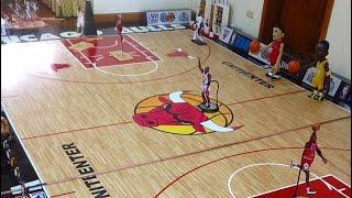 NBA & JORDAN COLLECTION (ENTERBAY, BULLS UNITED CENTER & BOBBLEHEADS)