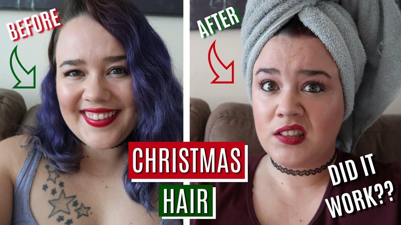 My Latest Hair Adventure Splat Color In Midnight Ruby Medium Haircuts With Bangs Shaggy Short Hair Girls Short Haircuts
