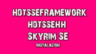 Skyrim Modding Remove Hdt High Heels Dependency From Youtube - The