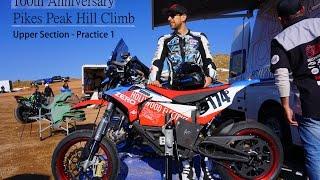 Pikes Peak International Hillclimb 2016 - ZERO FXS Supermoto Bike POV  | Upper Section Practice 1