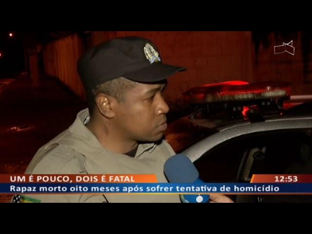 DF ALERTA -  Jovem vê primo ser assassinado em parque de diversões