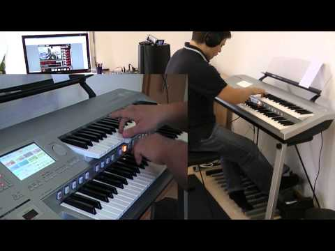 """JAMES BOND Theme"" - performed by Marco Cerbella - [HD remake] - Monty Norman (D-Deck, Electone)"