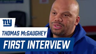Thomas McGaughey FIRST INTERVIEW since returning as Giants Special Teams Coordinator
