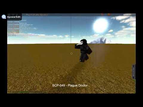 Scp 049 Fe Script Void Script Builder Youtube