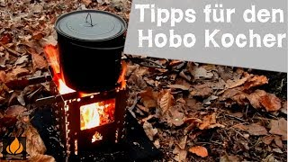 How to use the Hobo Stove correctly and prevent damaging it Tipps and Tricks - Bushcraft Gear