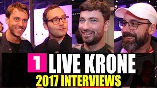 1LIVE Krone: Raf Camora, Marteria, Sido, Bosse, Clueso, Mike Singer, Lukas Rieger