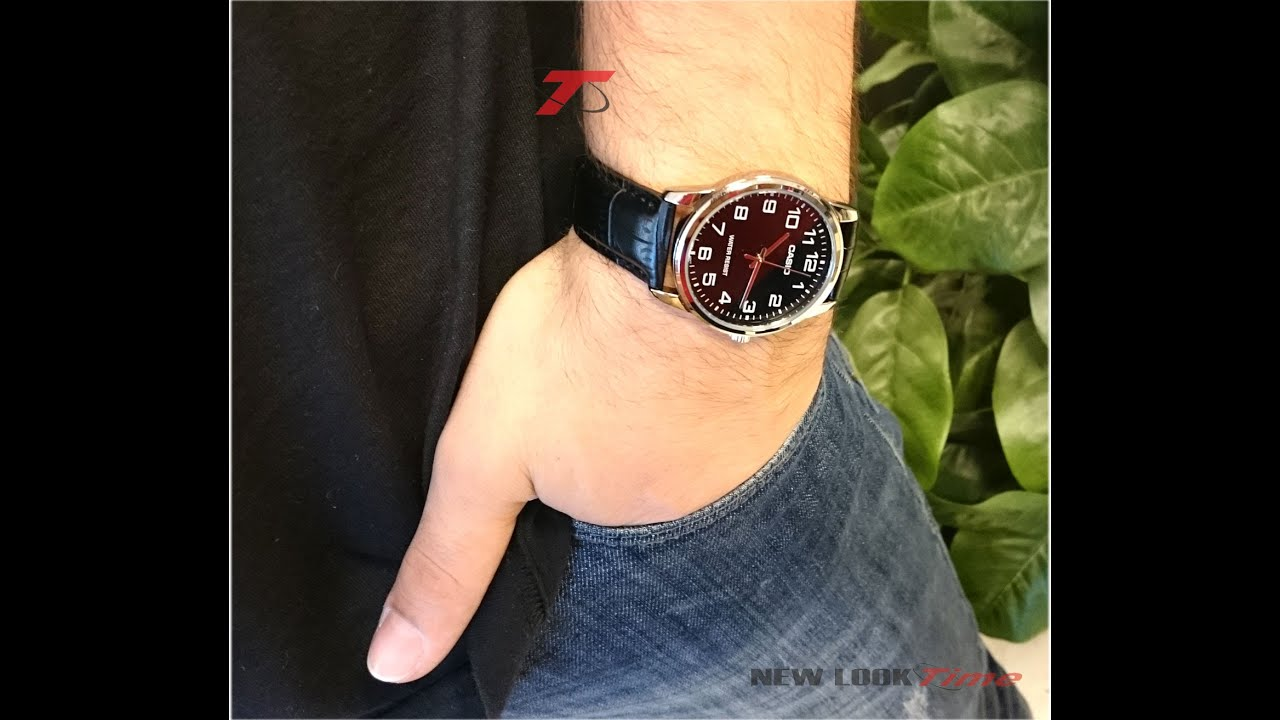 32f1915ae69 Relógio CASIO Classic Standard MTP-V001L-1BUDF - New Look Time Relógios
