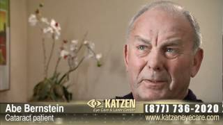 Katzen Eye Care Testimonials - Abe Bernstein - Wife Referred