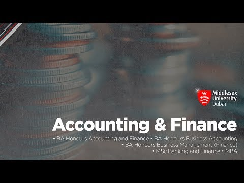 Accounting and Finance | Middlesex University in Dubai