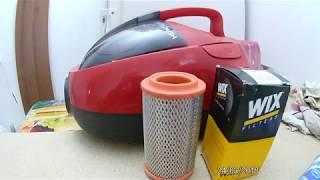 Ремонт пылесоса. Если пылесос стал плохо тянуть. Дешевая альтернатива оригинальному фильтру.