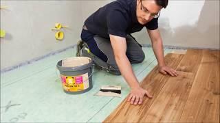 видео Укладка массивной доски