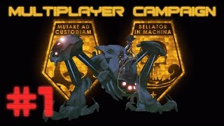 XCOM Enemy Within Multiplayer Campaign (part 1 - Invasion Begins)