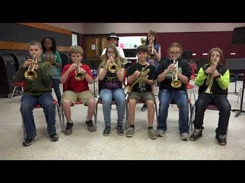 Hey 5th Graders! Come Join The Troup Middle School Band Next Year!