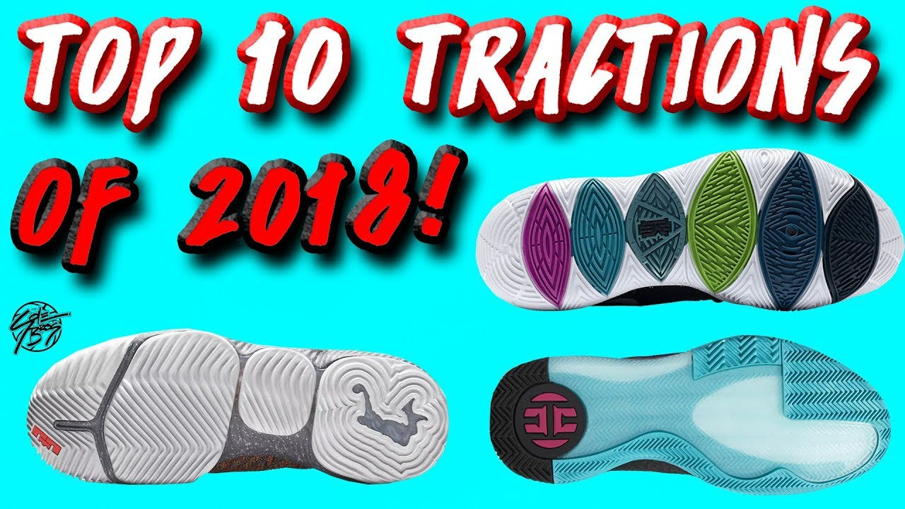 609ea42b9149 Top 10 BEST Traction on Basketball Shoes of 2018! - YouTube