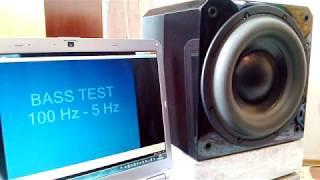 Super Bass Test Subwoofer Sunfire HRS10