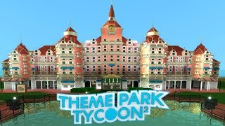 TPT2 - How To Build Hotel Entrances - DisneyLand Hotel Build - Roblox
