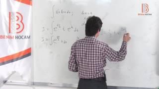 27) Kısmi İntegrasyon - ÖABT Matematik Dersi - Hakan Efe (2020)