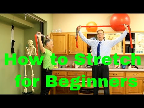 How to Stretch for Beginners-Full Body Routine with Yoga Strap